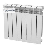 Биметаллический радиатор BIM 500/80 AQUAVITA D6